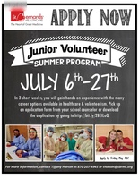 St. Bernard's Junior Volunteer Program