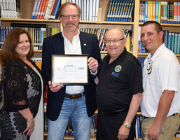 Wallace honored with ESGR PATRIOT Award