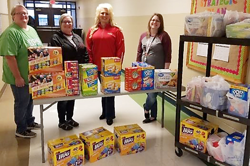 Program provides needed food for students