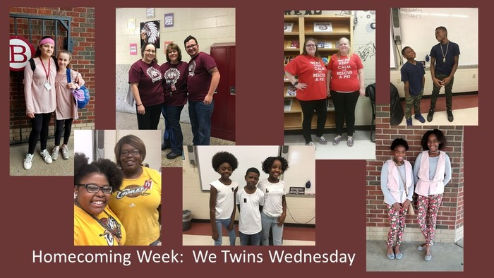 Homecoming Week We Twins Wednesday