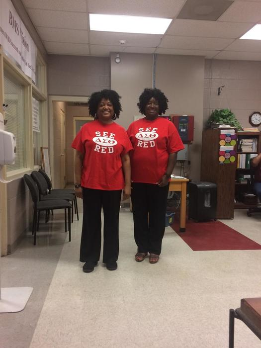 Homecoming Week- We Twins Day