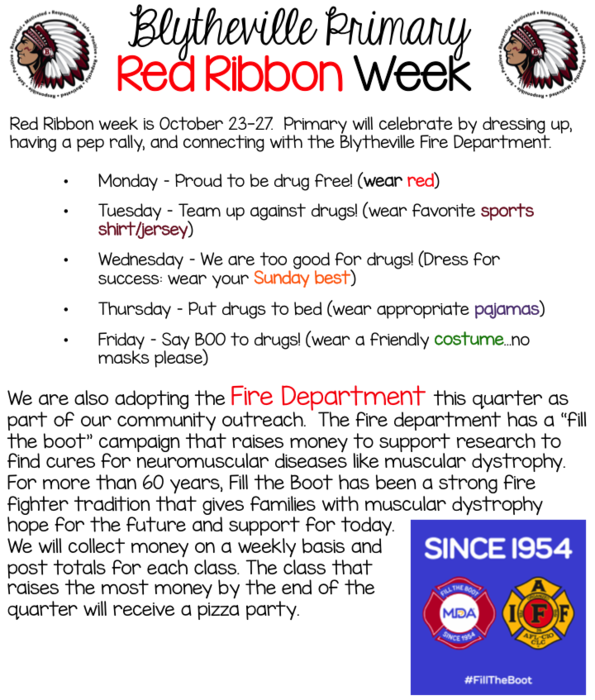 Red Ribbon Week Celebrations