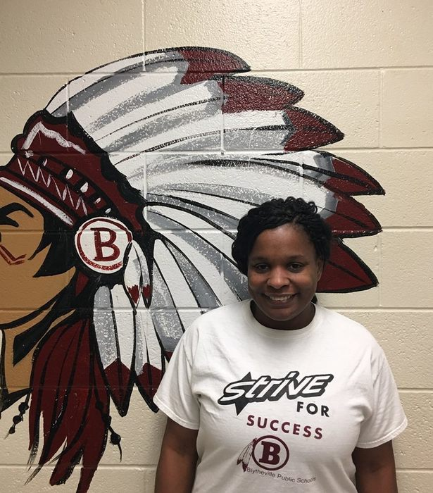 Lekeysha Buckley, BES Teacher of the Year