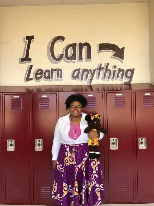 Dasnee McChristian, BMS Teacher of the Year